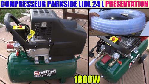 Parkside 24l Air Compressor Lidl Pko 270 B2 Accessories
