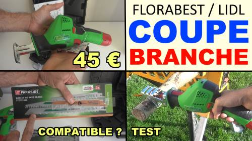 Florabest pruning saw lidl 12v cordless li-ion branch li-ion accessories test advice customer reviews price instruction manual technical data
