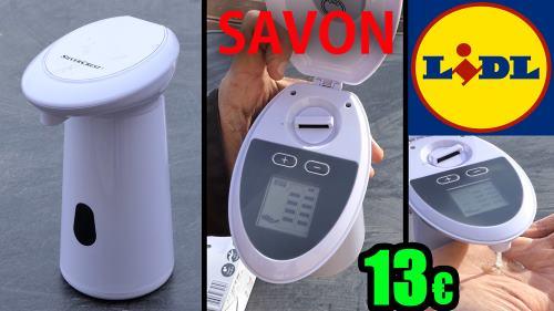 Distributeur de savon automatique LIDL