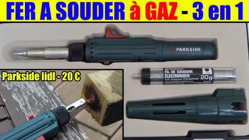 fer à souder à gaz lidl parkside pt360