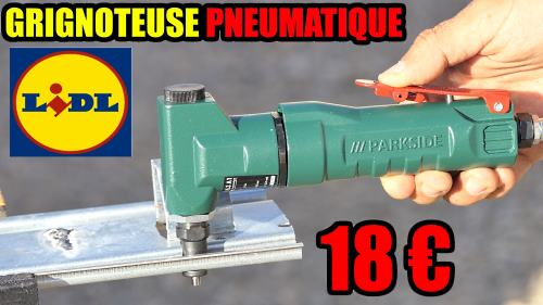 Grignoteuse pneumatique LIDL PARKSIDE 6,3 BAR