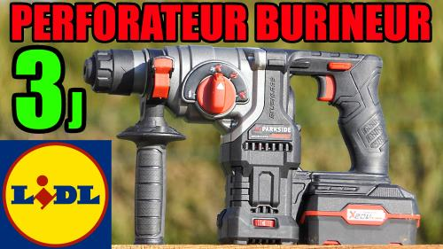 Perforateur burineur PARKSIDE PERFORMANCE 20V