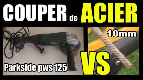 Meuleuse d 39 angle parkside pws 125 a1 lidl test avis prix pr sentation - Couper du carrelage a la meuleuse ...