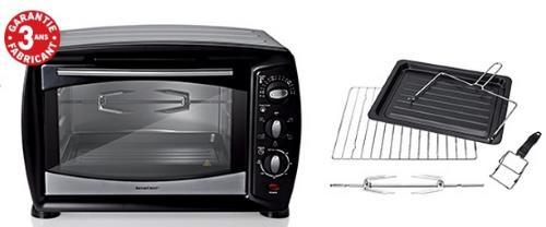 mini four grill tournebroche lild silvercrest 1500 w 25 l sgbr 1500 a2 test avis prix notice. Black Bedroom Furniture Sets. Home Design Ideas