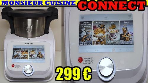 présentation du Monsieur cuisine connect le nouveau robot de cuisine de LIDL