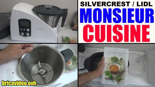 Nettoyeur vapeur main silvercrest lidl sdr 1100 a2 test for Robot monsieur cuisine plus