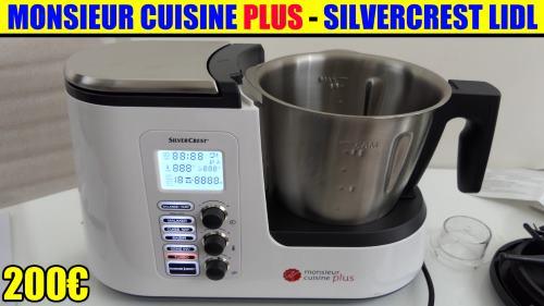 monsieur cuisine plus lidl silvercrest skmk 1200w dition
