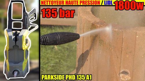 présentation du nettoyeur haute pression PARKSIDE PHD 135 A1