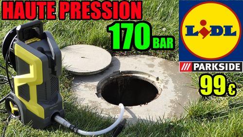 Nettoyeur haute pression 170 BAR Parkside
