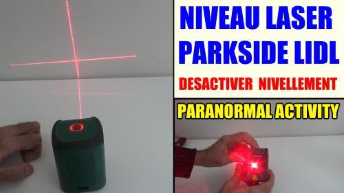 niveau laser en croix parkside pkll 7 a1 lidl test avis. Black Bedroom Furniture Sets. Home Design Ideas