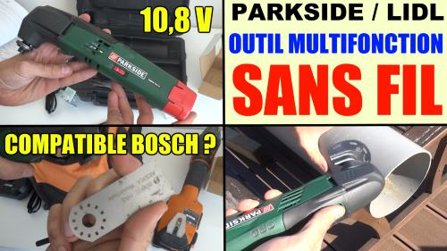 Outil multifonctions sans fil parkside pamfw 10 8 a1 lidl - Outil multifonction sans fil ...