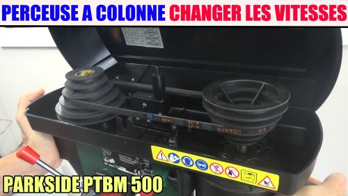Perceuse à Colonne Parkside Ptbm 500 A1 Lidl Test Avis Notice