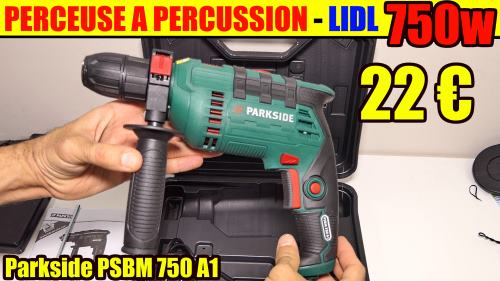 perceuse-a-percussion-lidl-parkside-psbm-750w-3000rpm-48000frappes-test-avis-notice