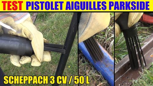 Pistolet aiguilles pneumatique parkside lidl pdne 4000 a1 marteau air comprim accessoires test - Pistolet peinture lidl ...