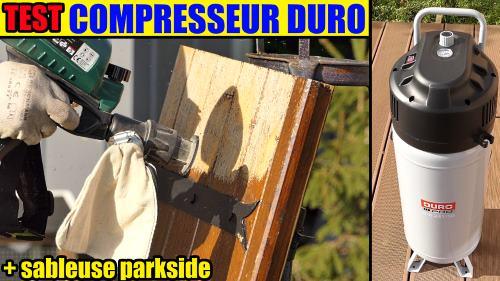 Pistolet De Sablage Pneumatique Parkside Pdsp 1000 Lidl Test
