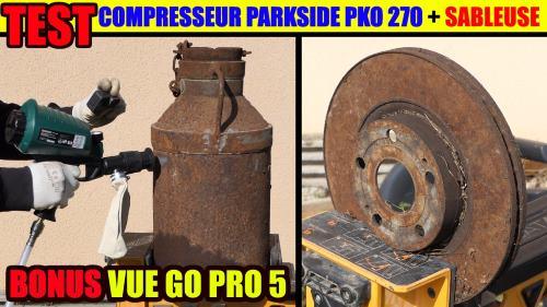 compresseur parkside pko 270 a4 lidl 270 litres 1800 watts