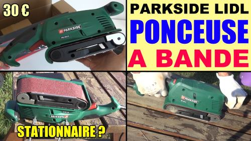 Parkside belt sander lidl pbs 600w b1 for dry surface sanding of wood, plastic, metal and plaster and painted surfaces accessories test advice customer reviews price instruction manual technical data