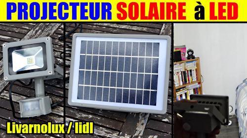 projecteur solaire led 9w lidl livarno lux lss 520 a1. Black Bedroom Furniture Sets. Home Design Ideas