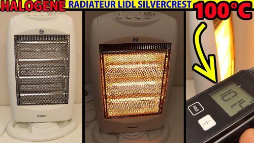 radiateur halogène LIDL SILVERCREST