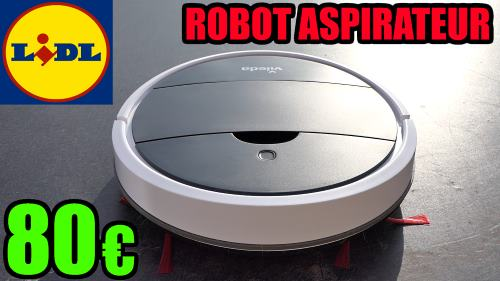 robot aspirateur VILEDA VR ONE