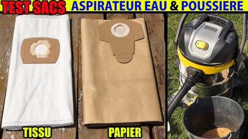 test de sacs pour aspirateur eau et poussière PARKSIDE PNTS 1400