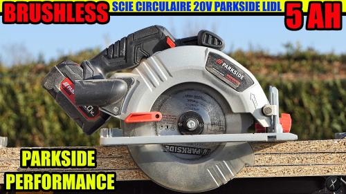 PARKSIDE PERFORMANCE scie circulaire 20V