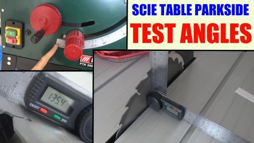 Rapporteur d 39 angle num rique powerfix lidl test avis prix - Top craft scie circulaire table ...