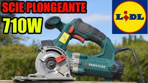 Scie plongeante LIDL PARKSIDE PTS 710w
