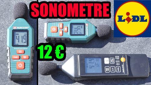 Sonomètre PARKSIDE 130 db
