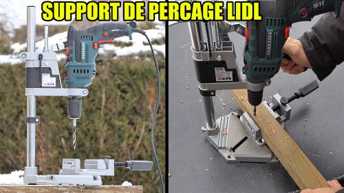 support de percage POWERFIX LIDL