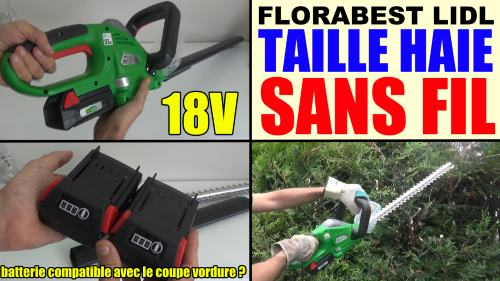 Florabest cordless grass trimmer 18v fat 18 b3 lidl test advice customer reviews price - Florabest coupe branche sans fil ...