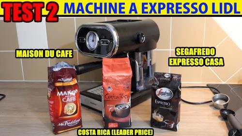 Machine à Expresso Lidl Silvercrest Sem 1100 B3 Pour La