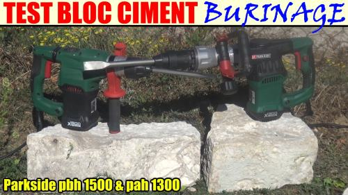 perforateur-parkside-pah-1300-pbh-1500-test-bloc-ciment