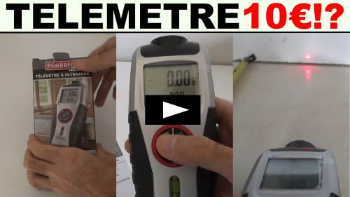 lidl telemetre a ultrasons powerfix profi test presentation