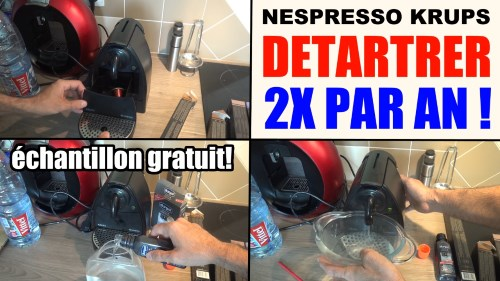detartrage cafetiere nespresso krups awesome machine et capsules nouvelle nespresso citiz with. Black Bedroom Furniture Sets. Home Design Ideas