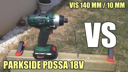Batterie parkside 18v for Avvitatore parkside 18v